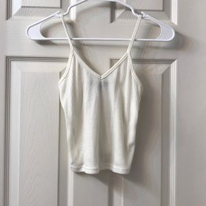 {American Eagle} Ribbed Crop Top   One Size